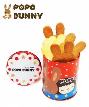 兔兔焦糖餅乾迷你相遇罐