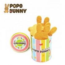 兔兔焦糖餅乾...迷你彩紋罐