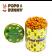 經典甜焦糖...蘑菇型爆米花+小餅乾
